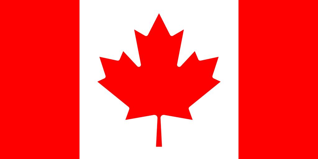 Illustration of Canadian flag