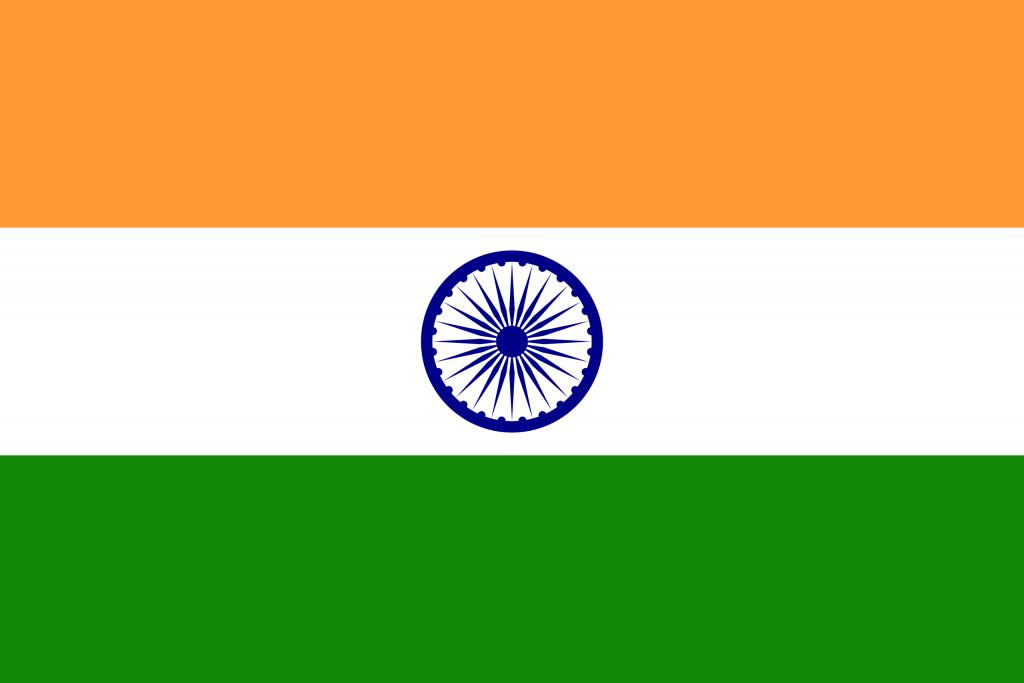 Illustration of Indian flag