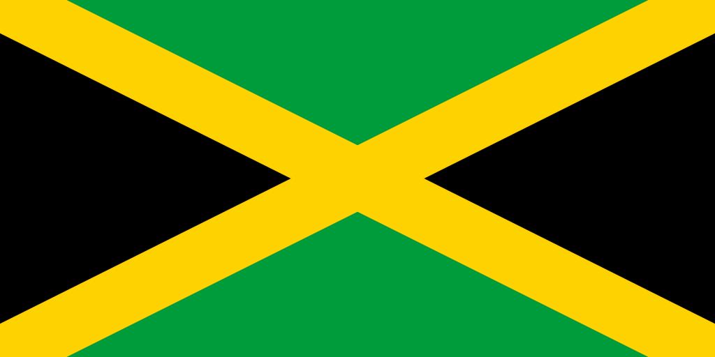 Illustration of Jamaican flag