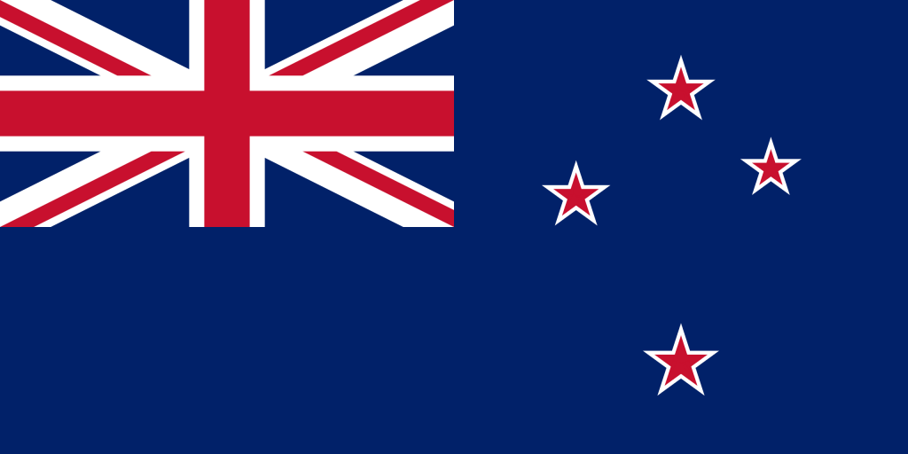 Illustration of New Zealand flag