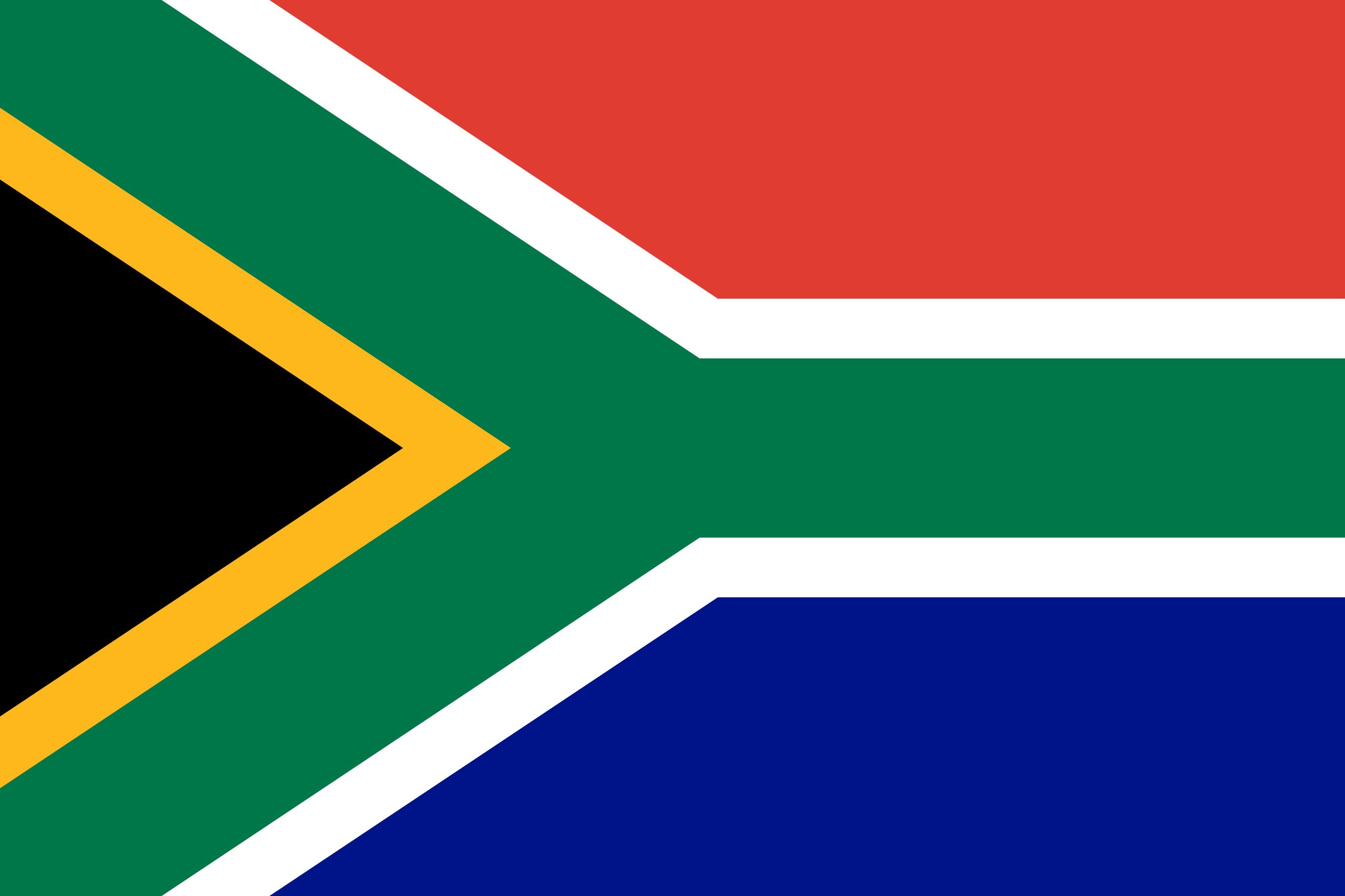 Illustration of South Africa flag